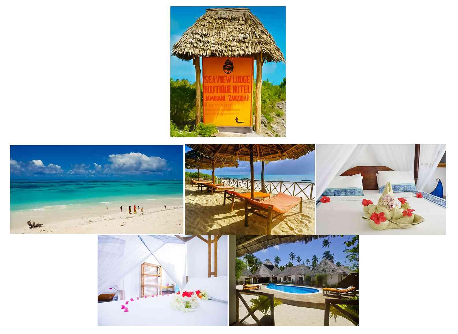 Sea View Lodge Hôtels côte ESt et Hôtels côte Nord de Zanzibar