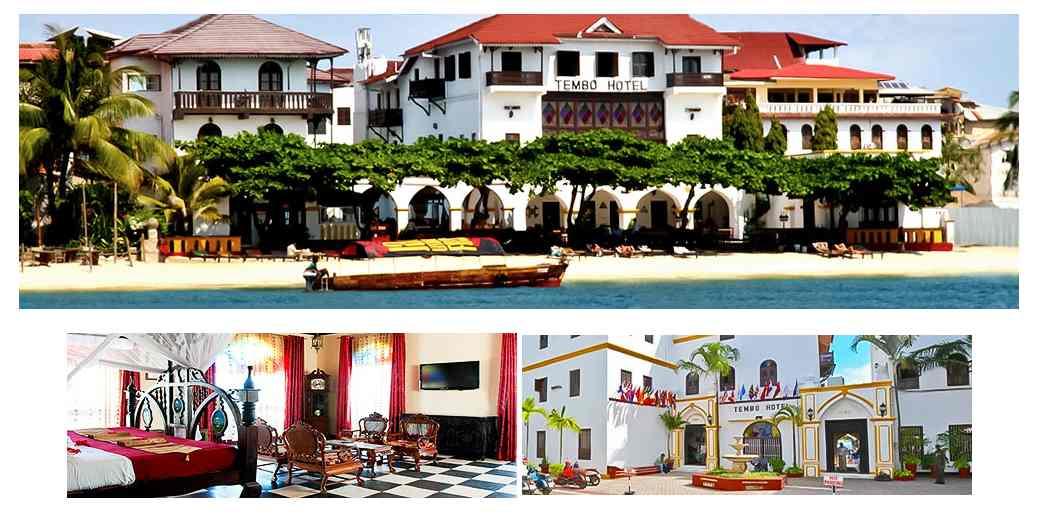 Tembo House Hôtels Stone Town Zanzibar