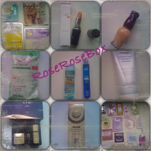 RoseRoseBox cosmétiques coréens