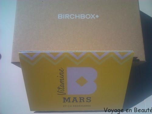 Birchbox Vitamine B Mars 2014