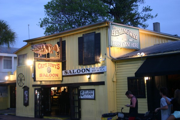 Captain Tony's Saloon Key west The oldest bar in florida