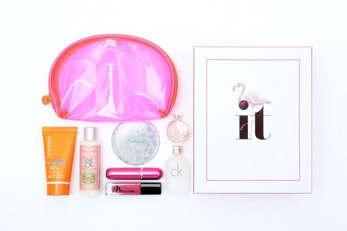 itset-box-beaute-marionnaud-pink-flamingo-ete-2015-contenu-avis-1