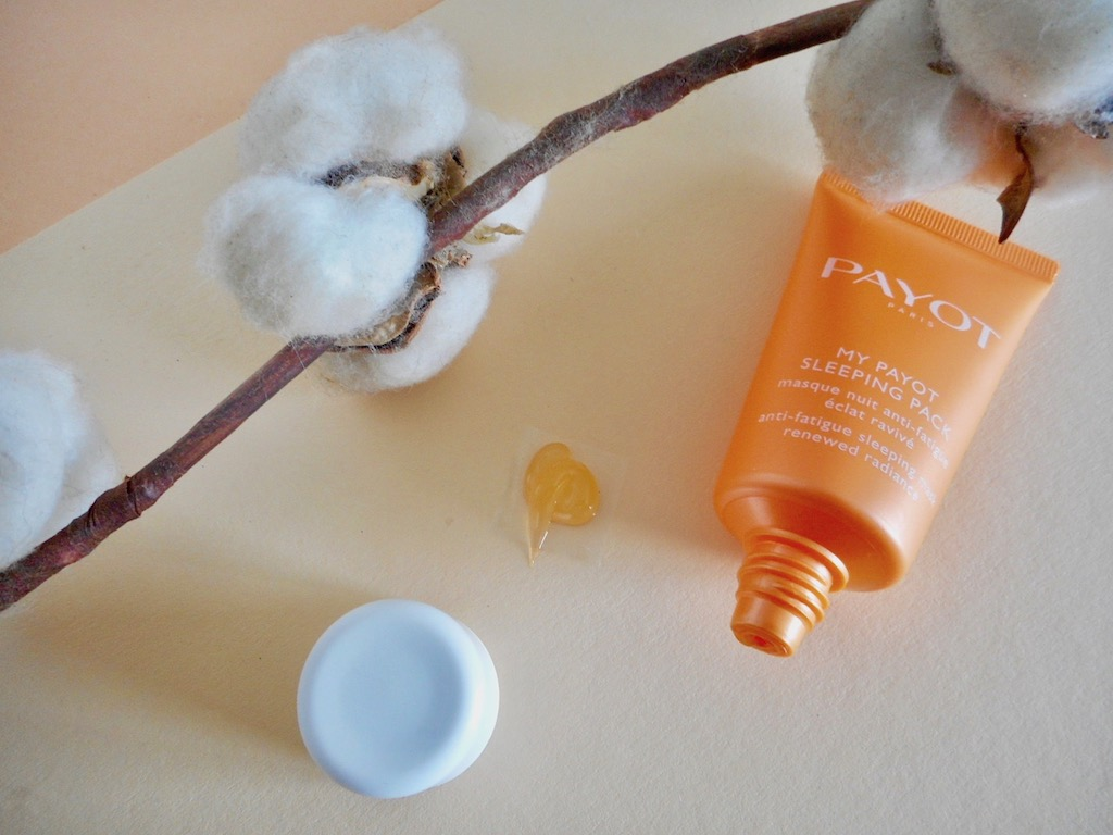my-payot-sleeping-pack-masque-nuit-avis-test-blog-beaute