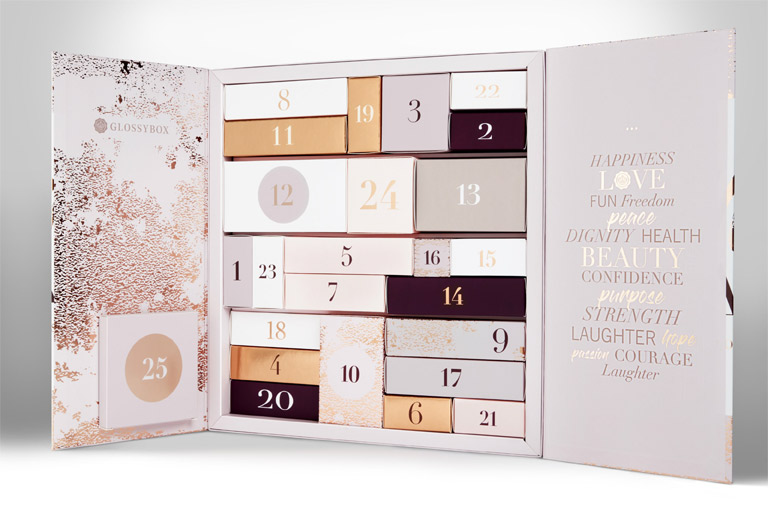 calendrier-avent-beaute-2018-noel-glossybox-promo-bon-plan-blog-voyage-en-beaute