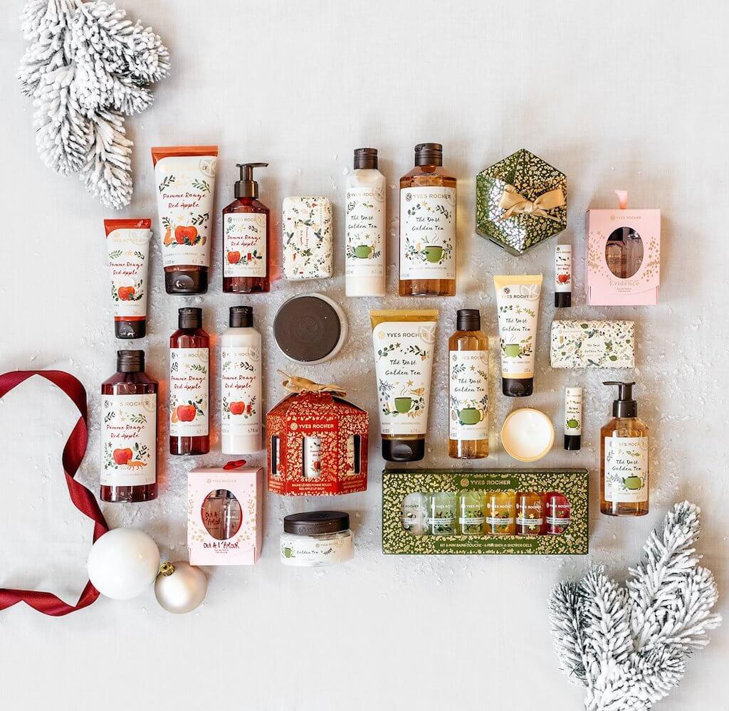 La jolie collection de Noël Yves rocher ! (bons plans et codes