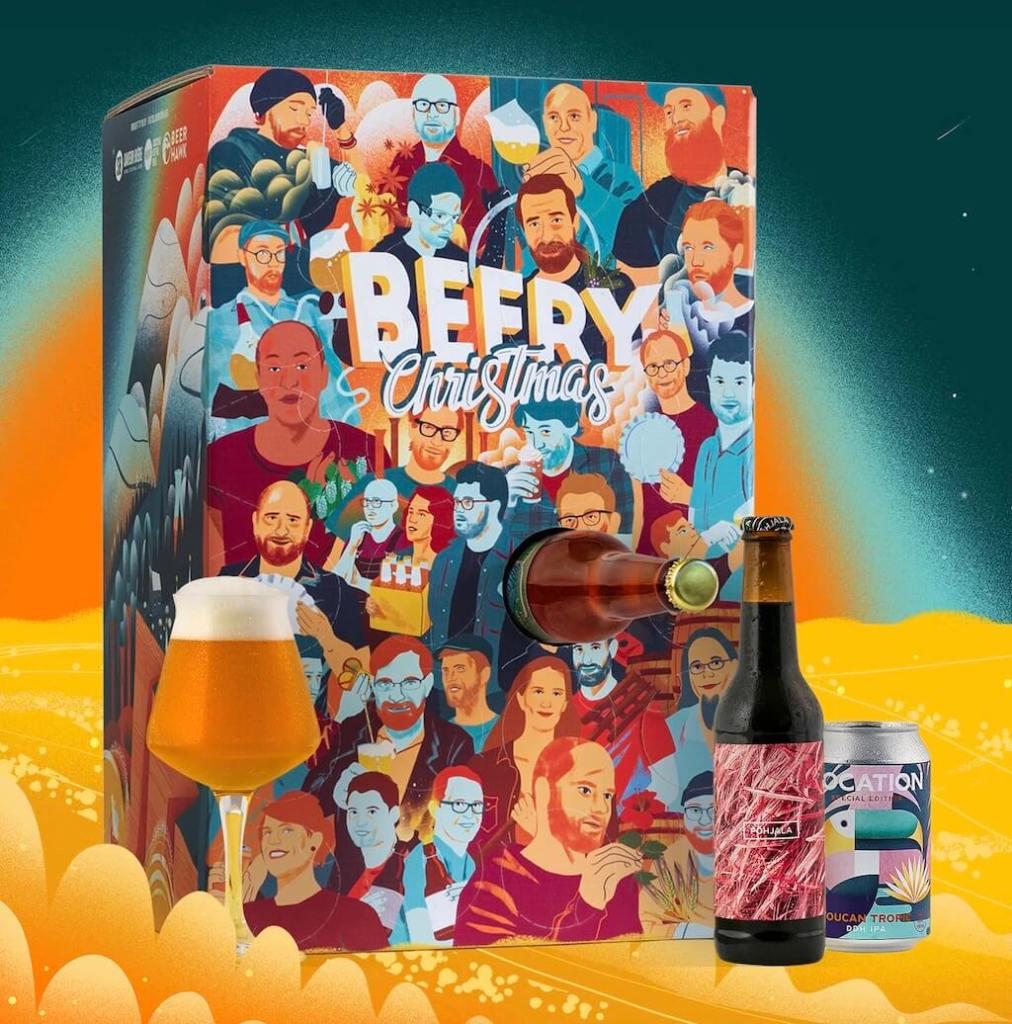 CAlendrier de l'Avent bières Beery Christmas 2021 : avis, contenu, code promo
