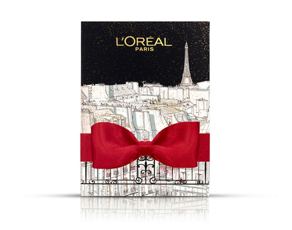 Contenu et code promo calendrier de l'avent beauté 2019 L'Oréal Paris