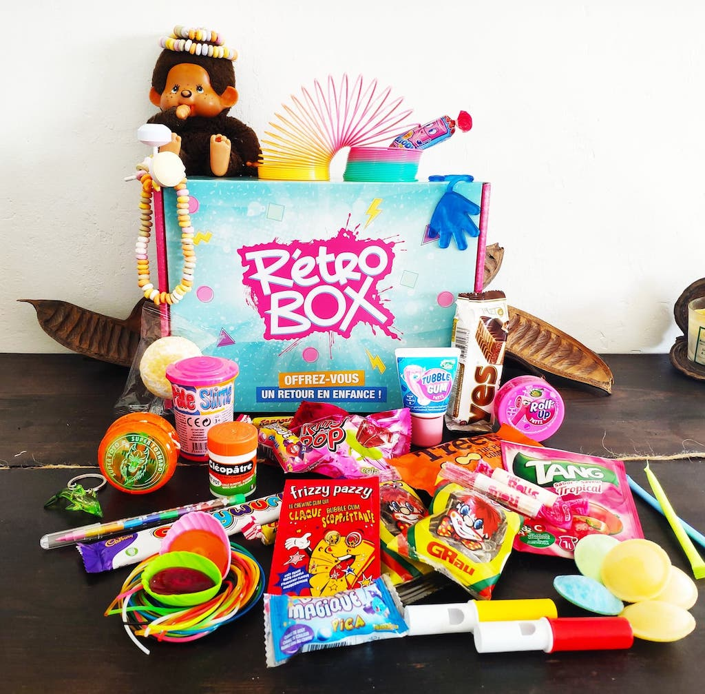Retro Box années 80/90 génération souvenirs