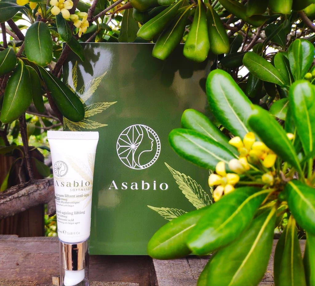 Avis test serum crème anti âge ASABIO chanvre et CBD Biologique