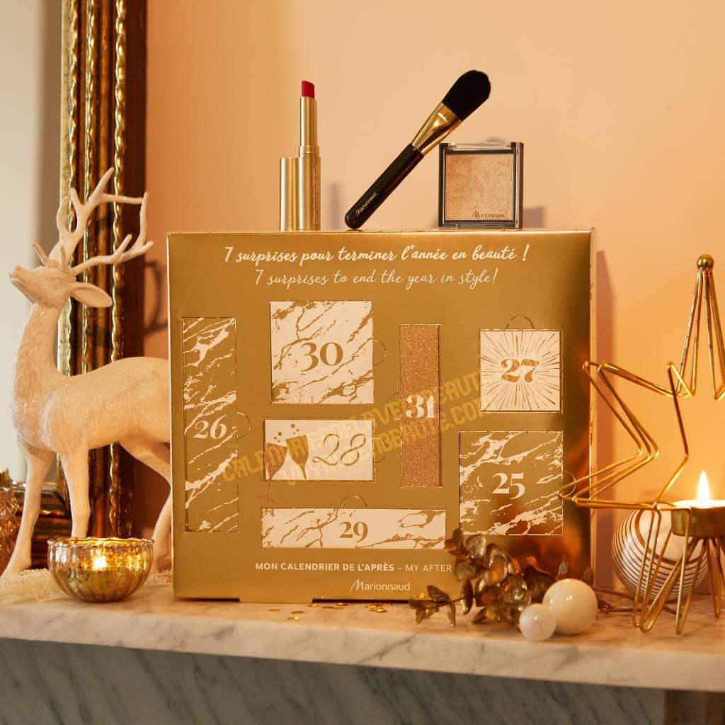 calendrier beauté de l'après MArionnaud : avis, contenu, unboxing