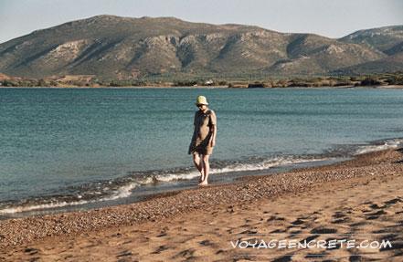 Ballade en Crète : la plage de Palékastro