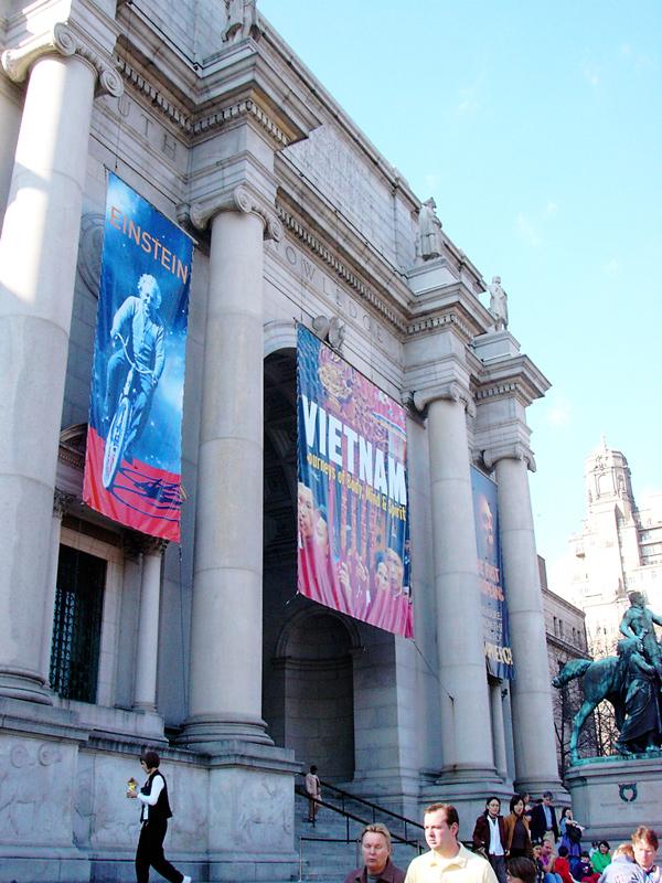 Musée d'histoire naturelle facade new york