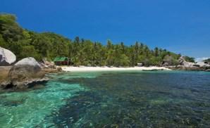 plage Sairee Beach de l'île de Koh Tao