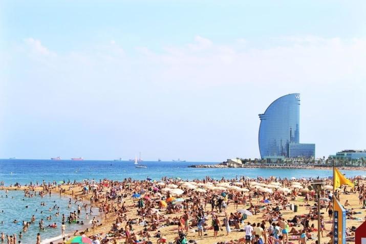 It always feels like summer in this Mediterranean city.