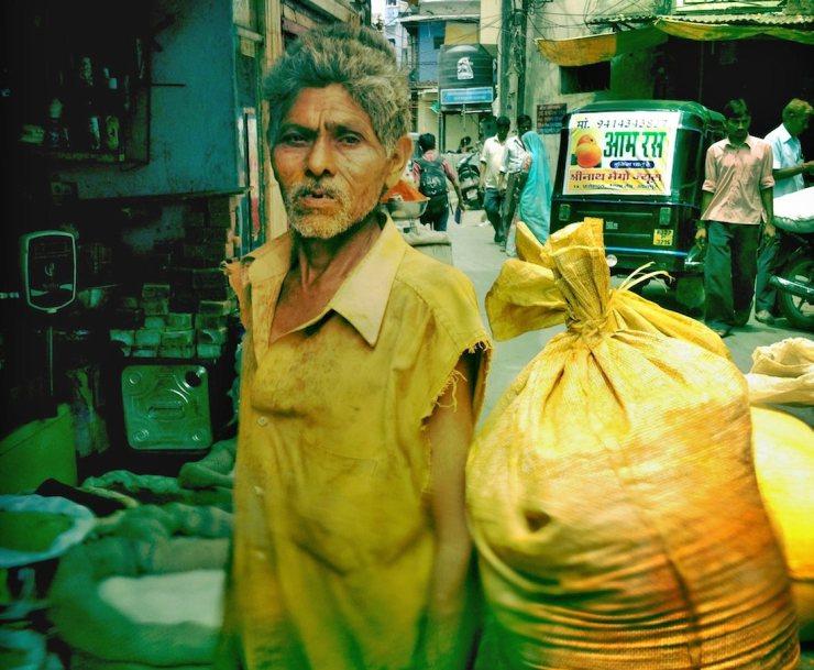 Street vendor Udaipur market