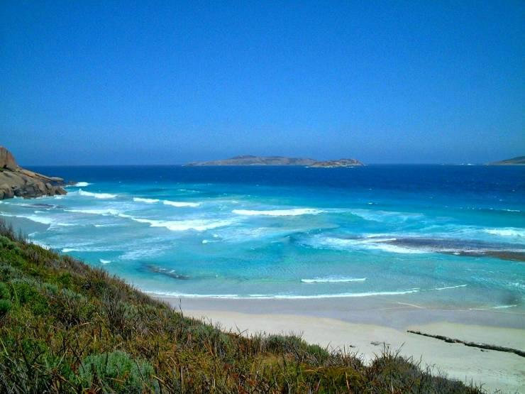 Twilight beach, bay, esperance