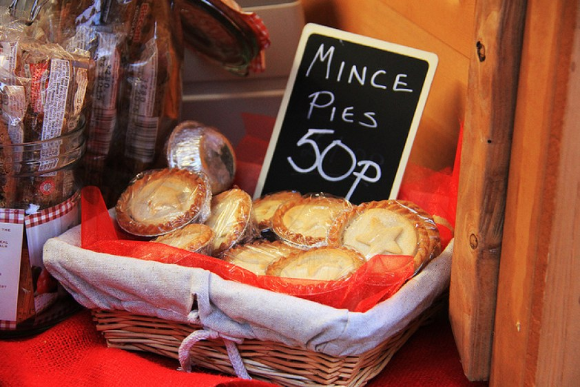 Mince Pies at the Chester Christmas Market in the UK, 12/2013, taken by Diann Corbett.