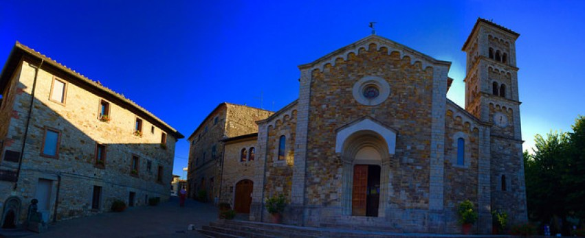 Church in Castellini di Chianti, Tuscany - Taken by Diann Corbett, 09/2015.