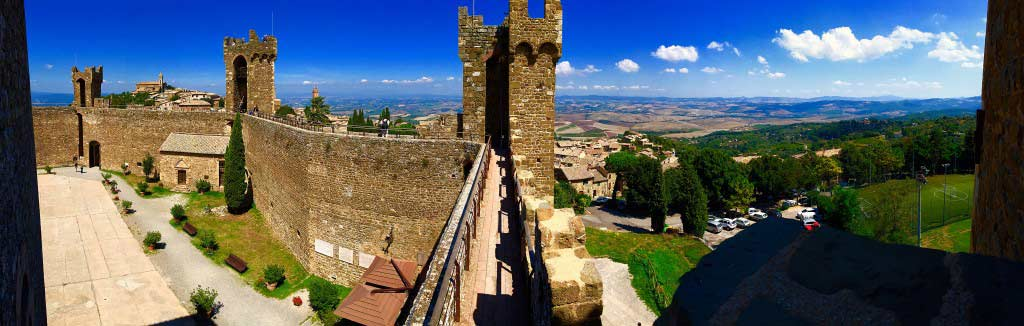 View from the Montalcino Fortress, Italy - Taken by Diann Corbett, 09/2015.