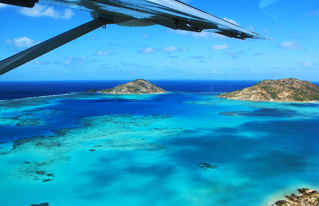 Leaving Lizard Island, Australia - Taken by Diann Corbett, 09/2015.
