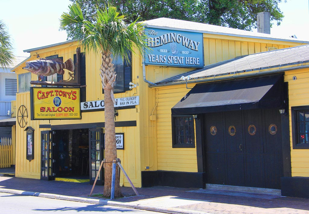 Captain Tony's Bar, Ernest Hemingway Hangout, Key West, Florida - Taken by Diann Corbett, 05/2015.