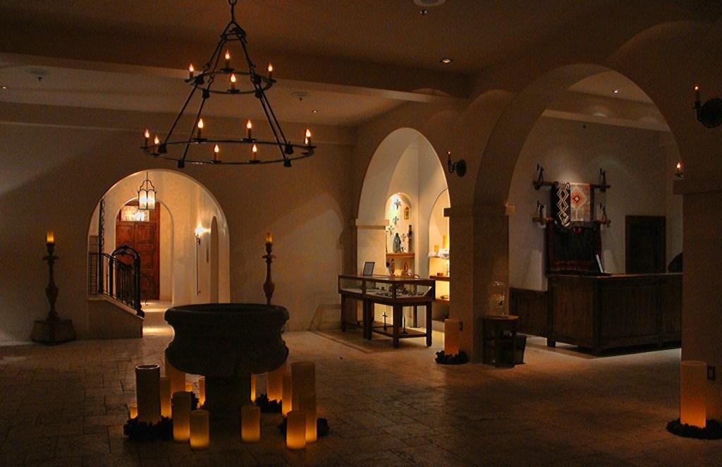 Lobby at the St Francis Hotel, Sante Fe, NM - Taken by Diann Corbett, 11/2015.