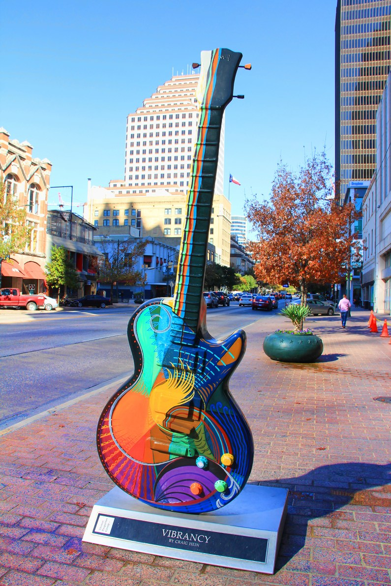 Guitar, Austin, TX - taken by Diann Corbett, 12/2015.