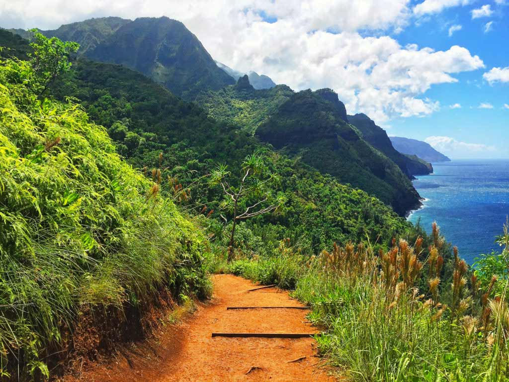 The Kalalau Trail, NaPali Coast, Kauai