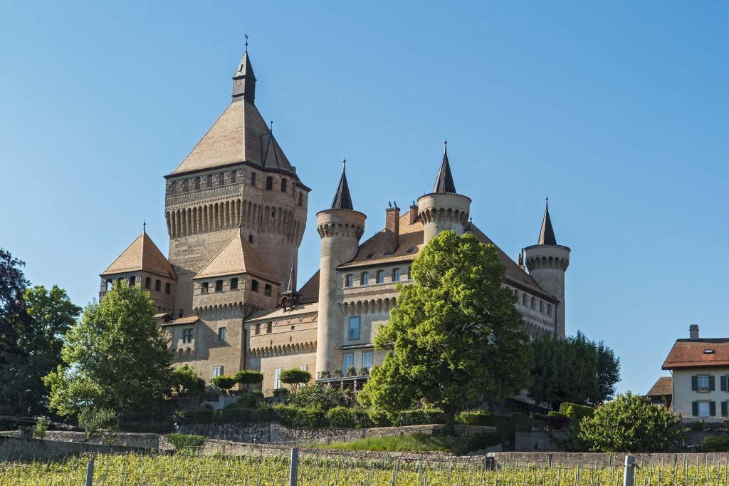 Vufflens-chateau