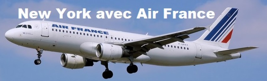 VOL AIR FRANCE NEW YORK