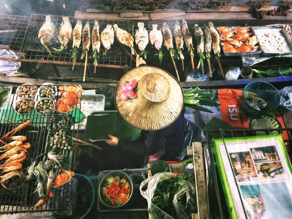 le marché à Bangkok