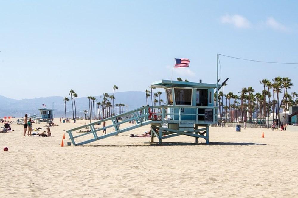 plage à Los angeles