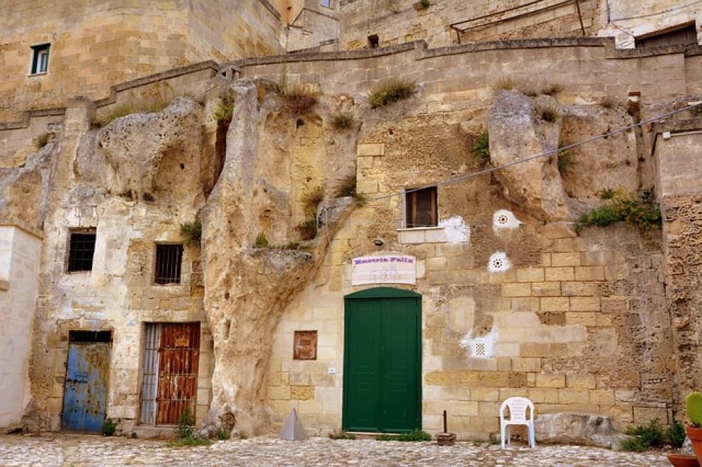 séjour à Matera, italie