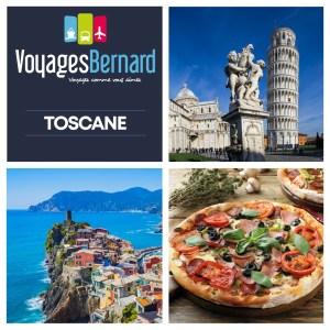 réservez votre voyage en Toscane avec les voyages bernard