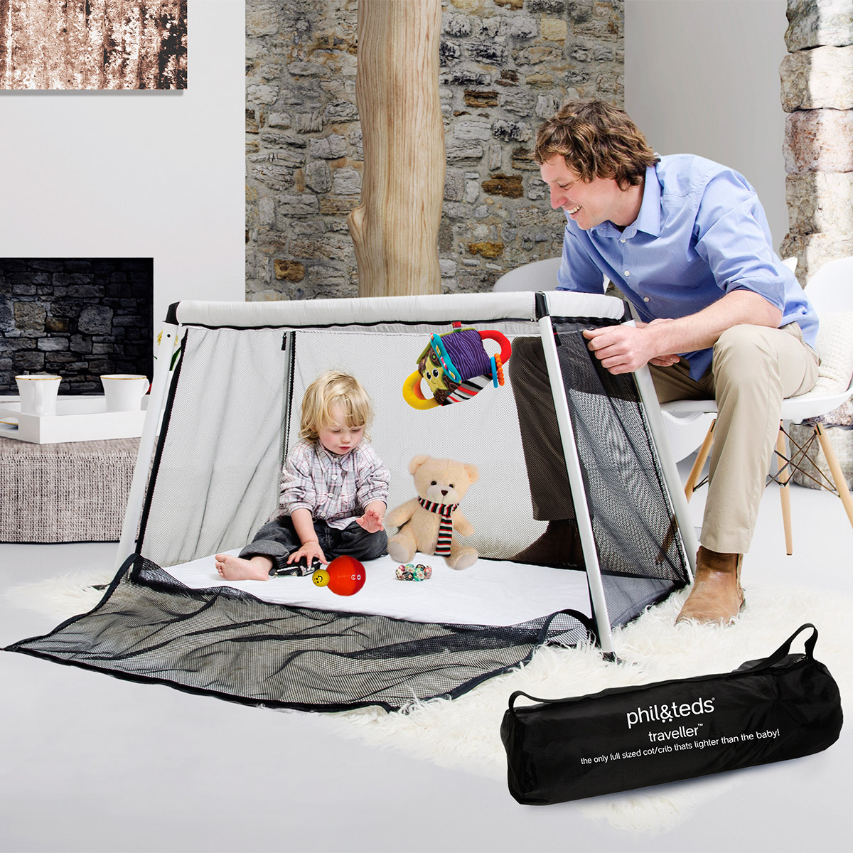 lit voyage bebe compact traveler phil and teds