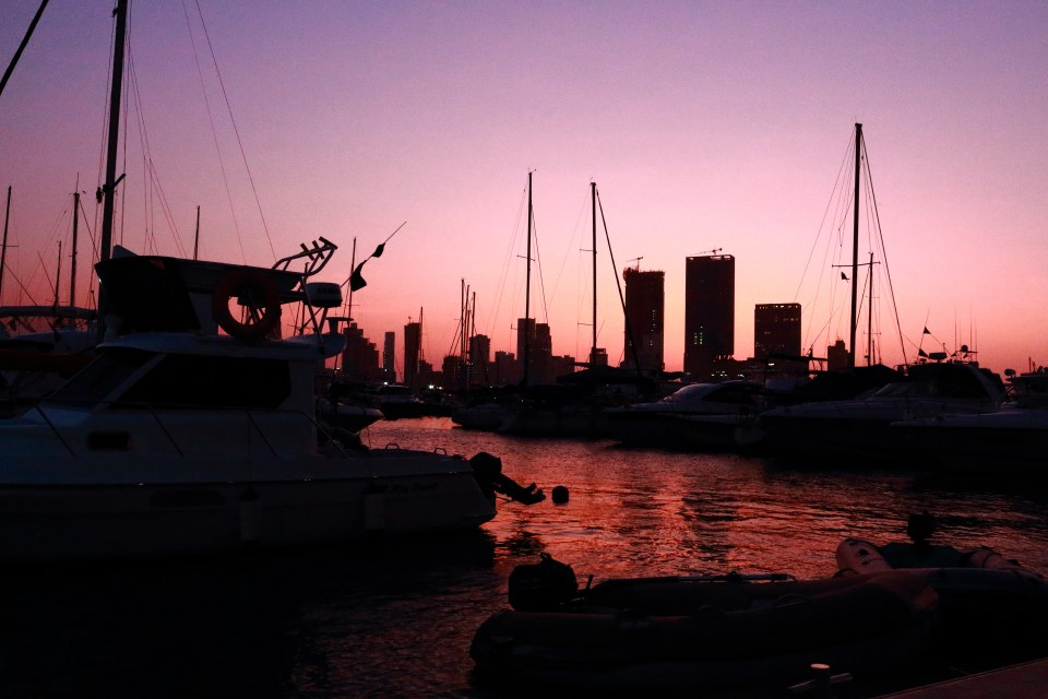 Club Nautico Marina sunset