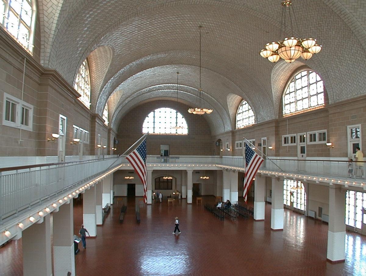 Le Musee De L Immigration Americaine De New York Plongee