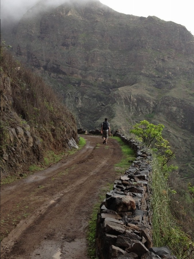 Balade sur les hauteurs près de Ponta do Sol - Santo Antão, Cap-Vert