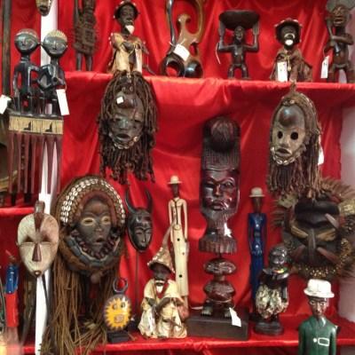 Masques africains - Mindelo, São Vicente, Cap-Vert