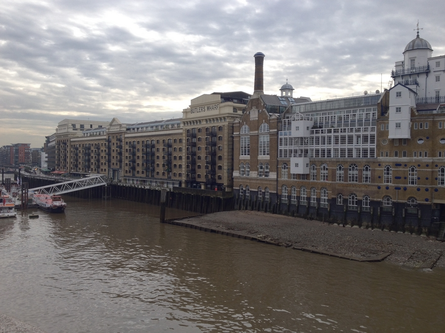 View from the London Bridge - London, England