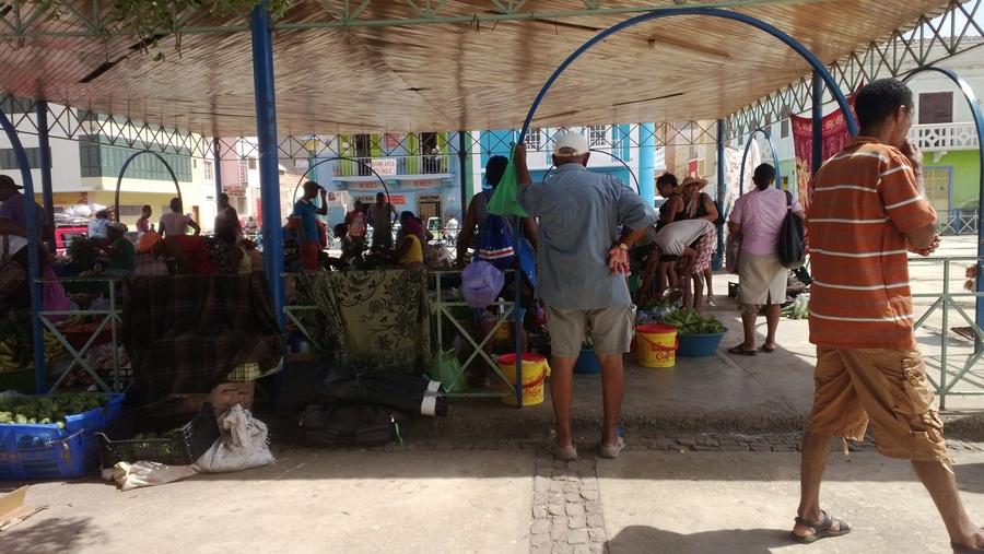 Marché de Mindelo - São Vicente, Cap-Vert