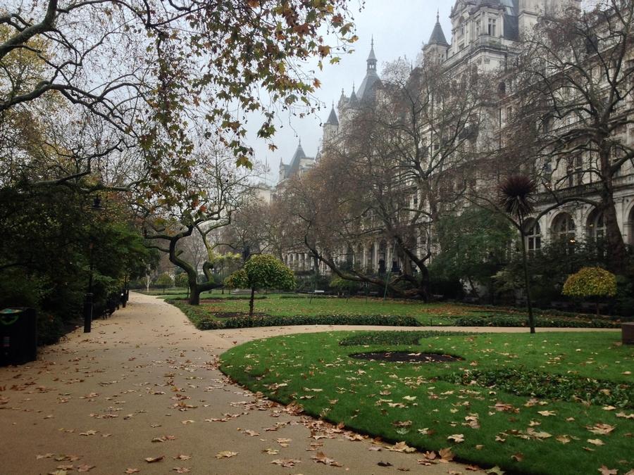 Whitehall Gardens - Londres, Angleterre