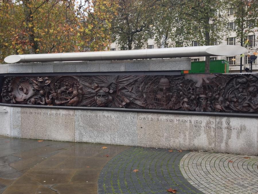 Monument commémoratif pour la 1ère Guerre Mondiale - Londres, Angleterre