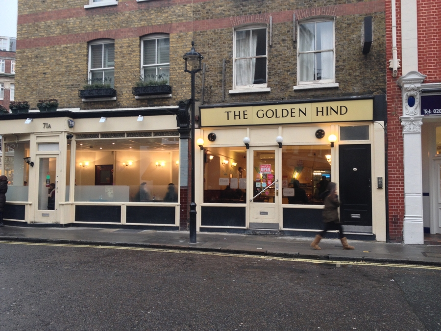 The Golden Hind - Londres, Angleterre