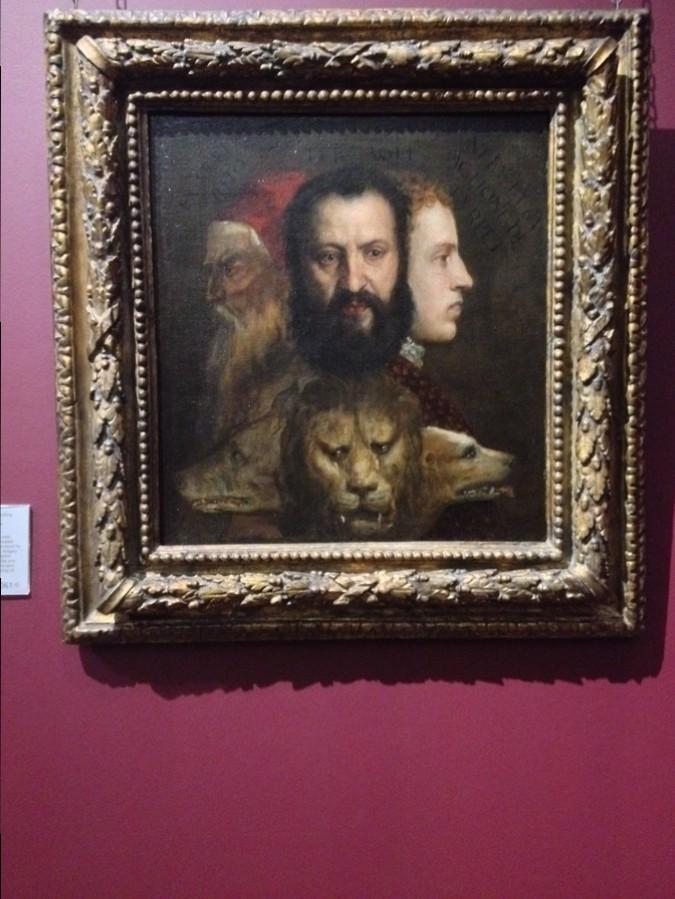 """""""Allégorie de la Prudence"""" de Titian - National Gallery, Londres, Angleterre"""