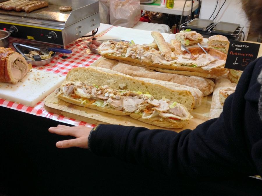 Un énorme sandwich! - Londres, Angleterre