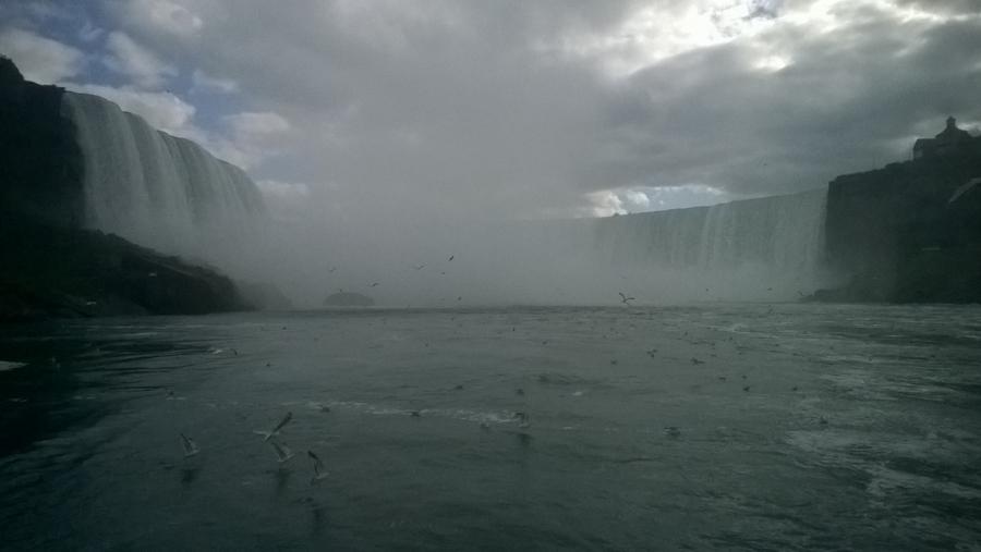 Epic vision of Niagara Falls - Canada