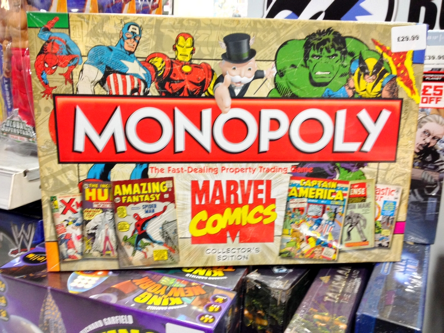 Marvel Monopoly at Forbidden Planet - London, England