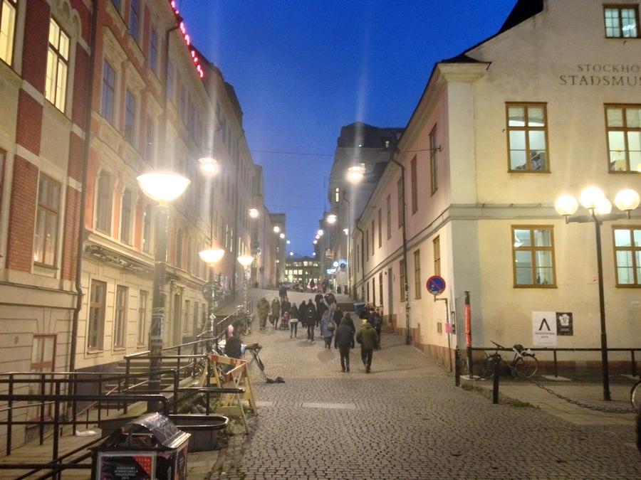 Le centre ville de Stockholm - Suède