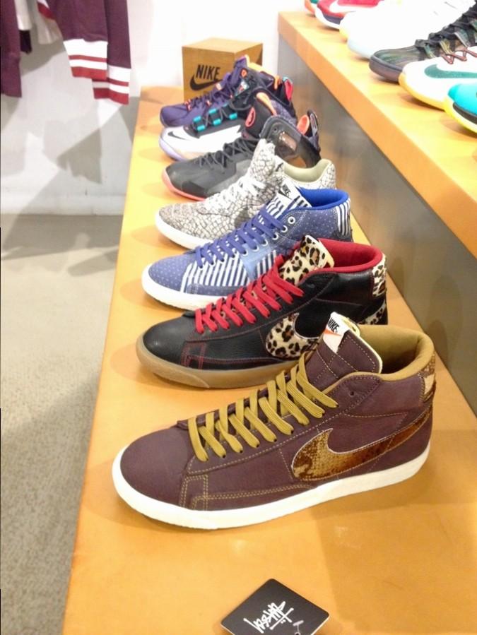 Des baskets chez Sneakersnstuff - Stockholm, Suède